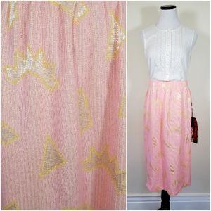 VTG 80s Knit Pencil Skirt New Old Stock Sm/Med